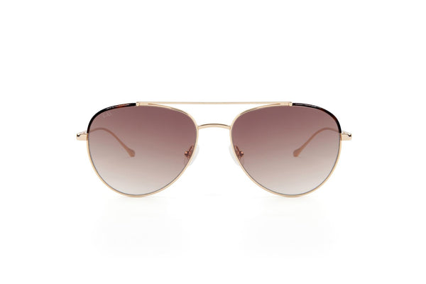 King Aviator Sunglasses - Champagne