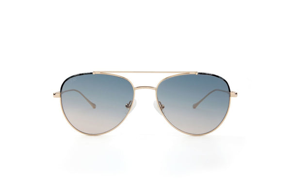 King Aviator Sunglasses - Topaz