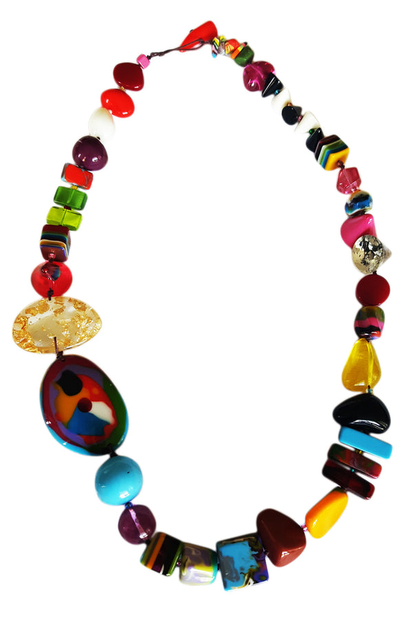 Fusion Beads Necklace - Mix