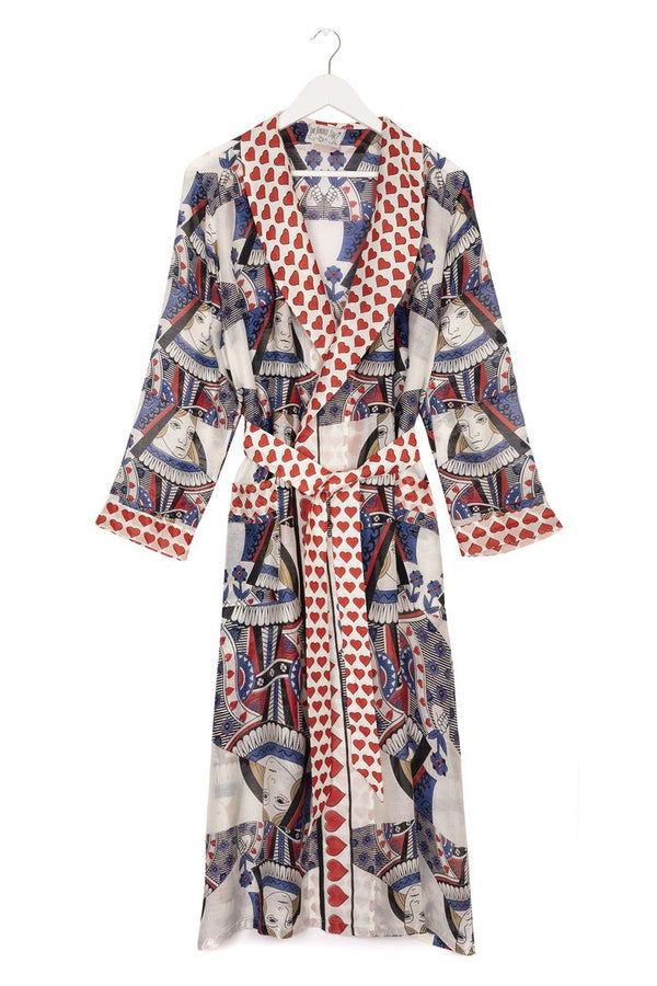 Queen of Hearts Dressing Gown