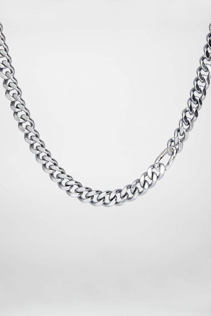 Wave Necklace Silver