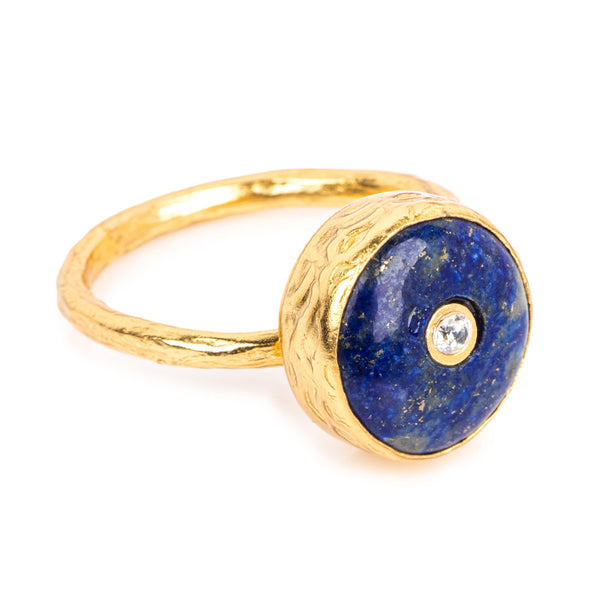 Amalfi Lapis Cocktail Ring