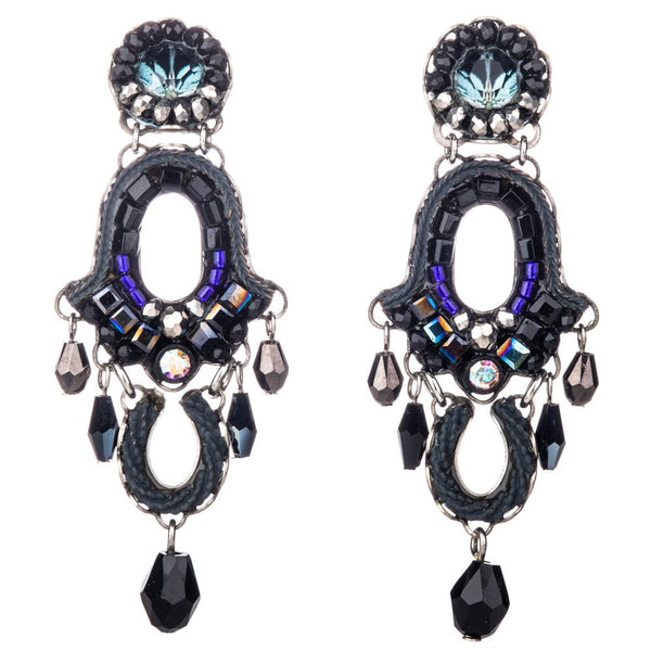 Ethereal spirit Classic statement earrings - C1439