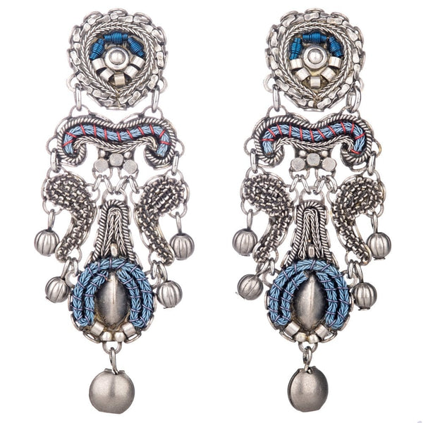 Indigo Collection Statement Post Earrings - N1525