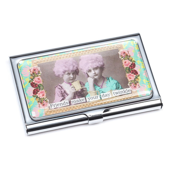 Friends Make Your Day Twinkle Card Holder