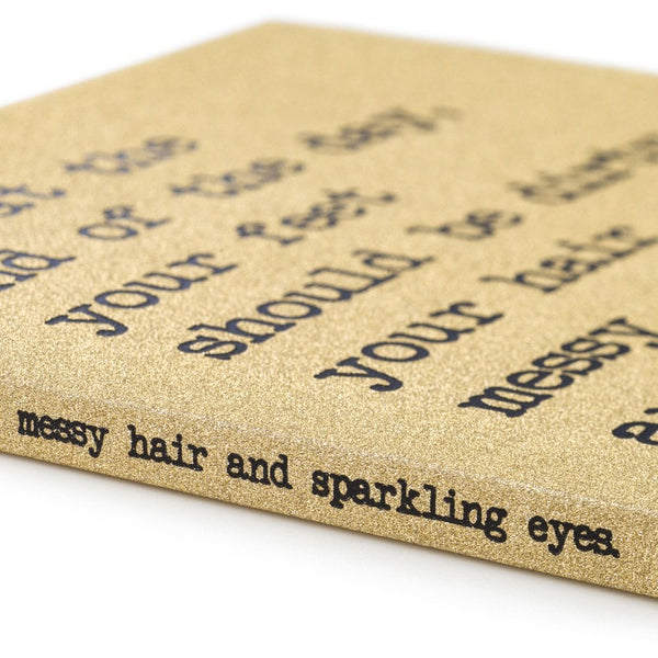 And Your Eyes Sparkling A5 Notebook - UDA1
