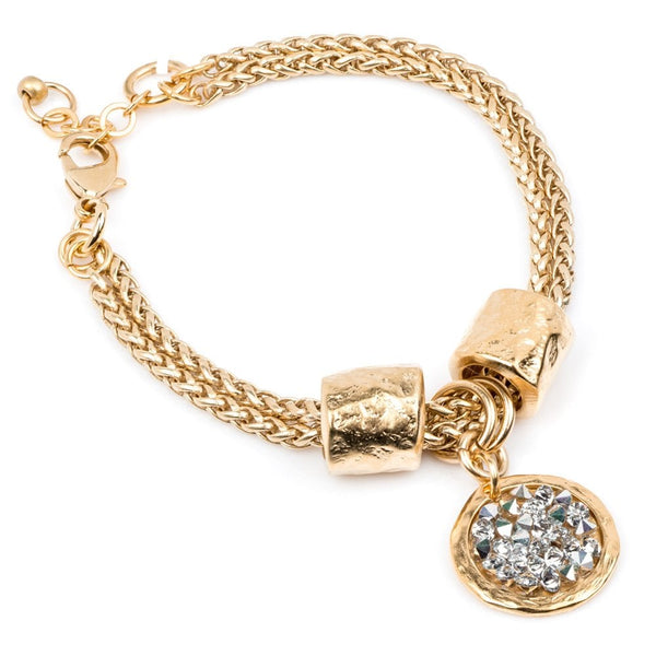 Latis Bracelet Gold Plated Silver - 3927