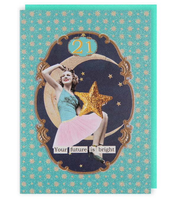 AGE 21 Greetings Card