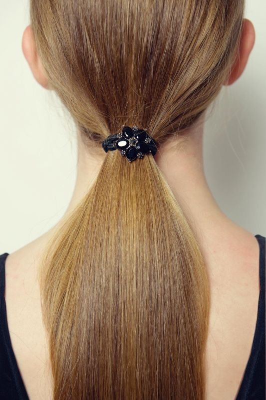 Black Crystal Hairband