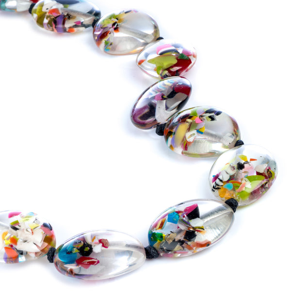 Small Riverstones Kathy Necklace - Cascade