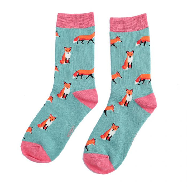 Foxes Socks Green