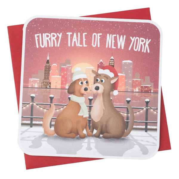 Christmas card (furry tale of New York)