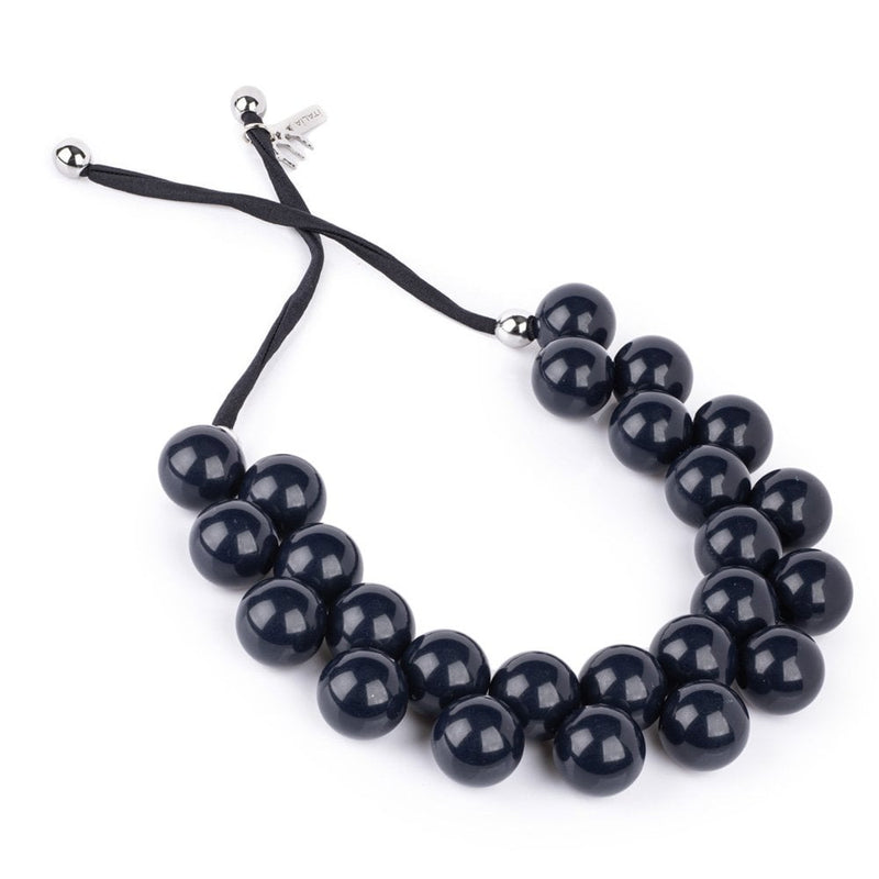 Ballsmania Dark Blue Necklace - C206194013