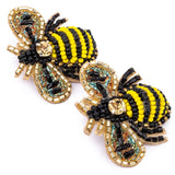 Set of Two Bumble Bee hairclips
