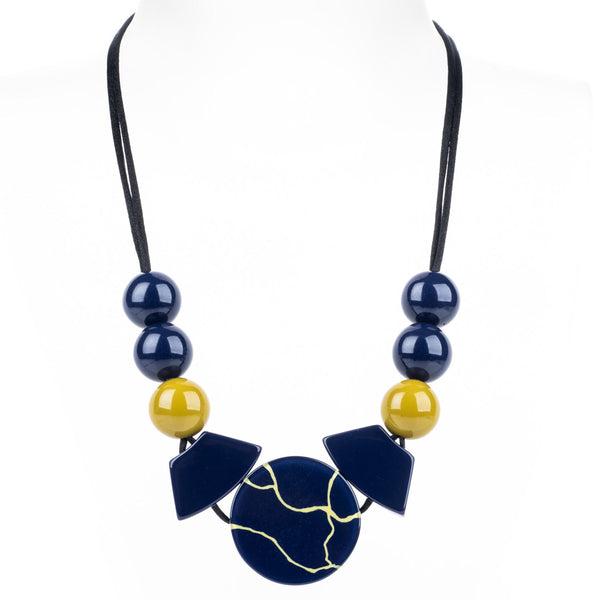 Aspen Ball and Circle Necklace