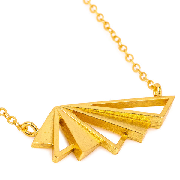 TAMARA SHORT GOLD NECKLACE