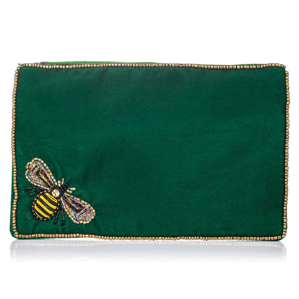 Velvet Bee Purse Large