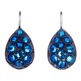 Tears of Joy Blue Lagoon Hook Earrings