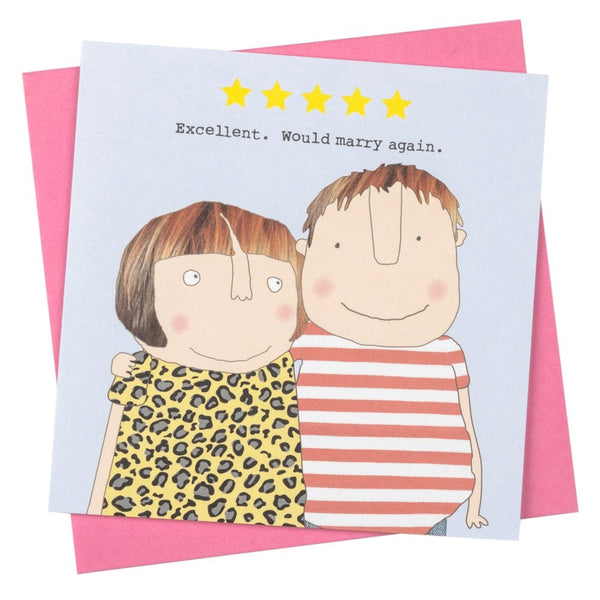 Five Star Love Greetings Card - GF249