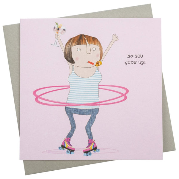 You Grow Up Greetings Card - GF243