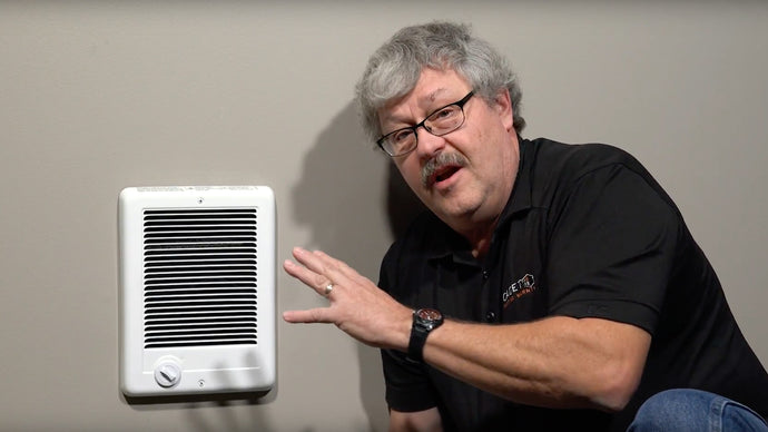 How to use a wall thermostat with a heater that has a built-in thermostat