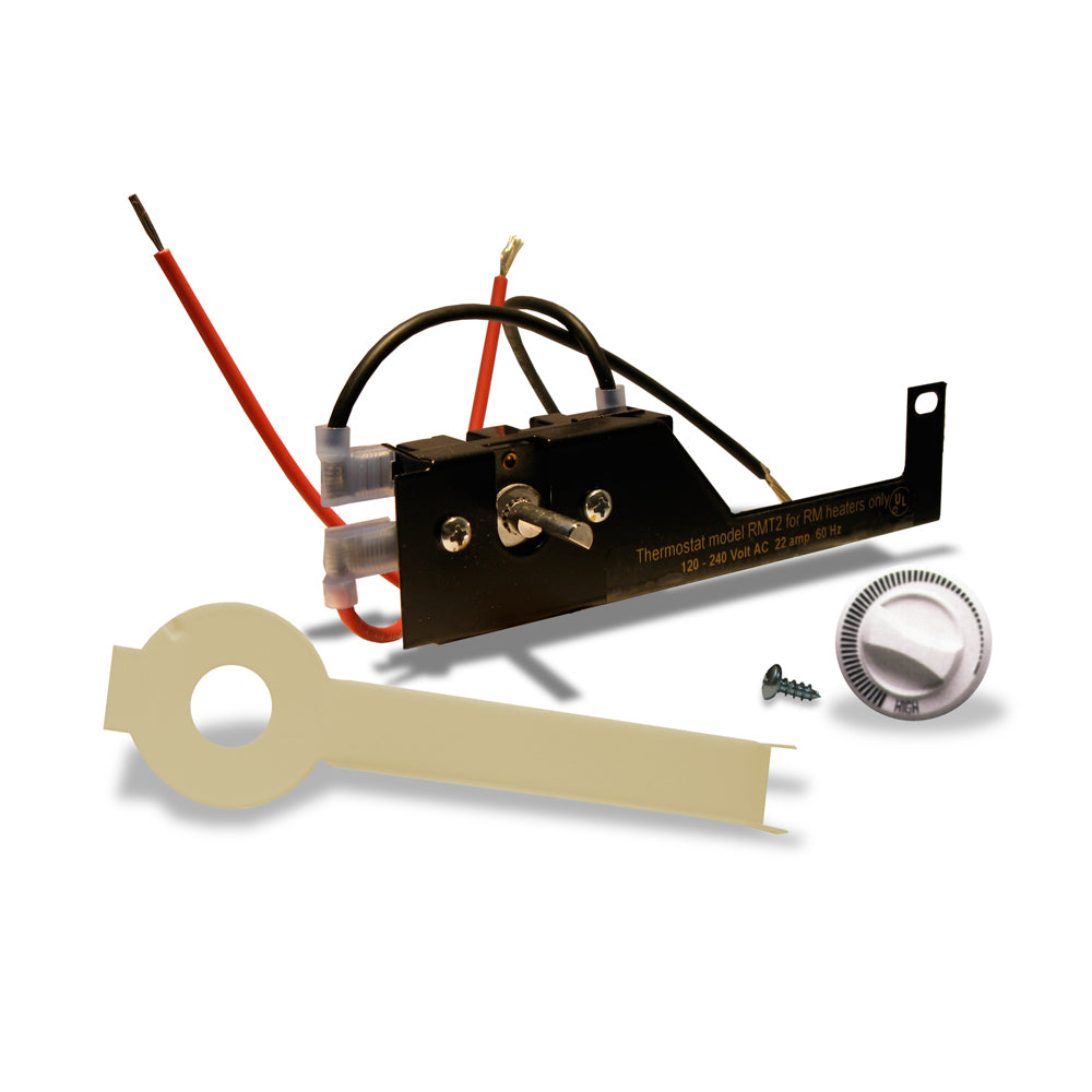 Register Built-in Thermostat Kit, DP, 25 Amp, Almond