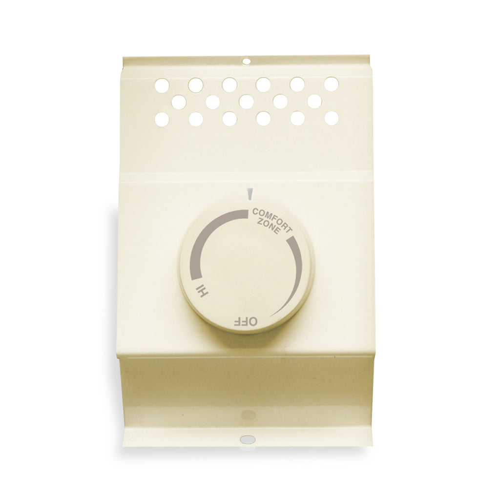 Built-in baseboard thermostat, Double Pole (almond)