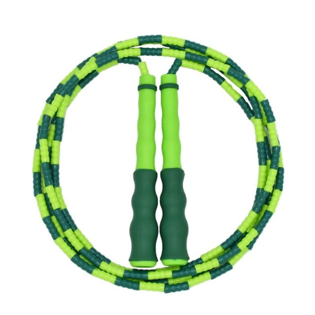 Bamboo Jump Rope Kids Non-slip Handle Skipping Rope Exercise Fitness Sports Tool hard bead yoga rope rope skipping Dropshipping