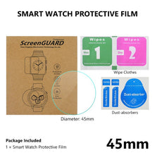 Load image into Gallery viewer, All Size Round Watches Tempered Glass Screen Protective Film Diameter 34 35 36 38 39 40 42 45 46 mm Screen Guard For Smart Watch