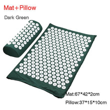 Load image into Gallery viewer, Massager Cushion Massage Yoga Mat Acupressure mat Relieve Stress Back Body Pain Spike Mat Massage Mat
