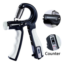 Load image into Gallery viewer, R-Shape Adjustable Countable Hand Grip Strength Exercise Gripper with Counter Durable Hand Strength Exercise Fitness Tool