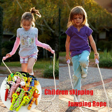 Load image into Gallery viewer, Kids Cartoon Jump Rope Wood Handle Outdoor Sport Game Bodybuilding Fitness Skipping Ropes Interactive Physical Toys for Children