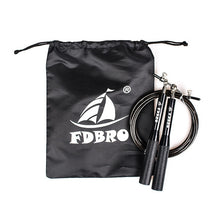 Load image into Gallery viewer, FDBRO Adjustable Jumping Rope Aluminum Speed Crossfit Training Workout Exercise Fitness Equipment MMA Boxing Gym Skipping Rope