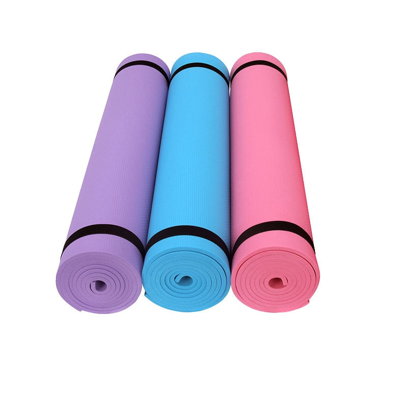 173*61cm EVA Yoga Mat Tasteless fitness mats 6MM Thick Non-slip Fitness Pad Sports pads For Yoga Exercise Pilates Gym Exercise