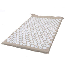 Load image into Gallery viewer, Hot Massager 66*42 CM Massage Mat Acupressure Relieve Back Body Pain Relax Spike Mat Acupuncture Massage Yoga Mat with Pillow