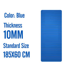 Load image into Gallery viewer, 185X80 Big Size Gym Workout Yoga Mat For Men NBR Non-slip Exercise Tapete Gymnastics Fitness Mats 15MM Sport Pad With Bandages