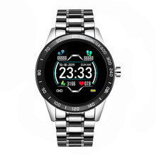 Load image into Gallery viewer, LIGE 2020 New Smart Watch Men LED Screen Heart Rate Monitor Blood Pressure Fitness tracker Sport Watch waterproof Smartwatch+Box