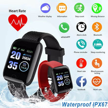 Load image into Gallery viewer, 2020 Smart Watch Women Men Smartwatch For Apple IOS Android Electronics Smart Fitness Tracker With Silicone Strap Watches Hours