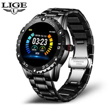 Load image into Gallery viewer, LIGE New Smart Watch men And women Sports watch Blood pressure Sleep monitoring Fitness tracker Android ios pedometer Smartwatch
