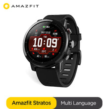 Load image into Gallery viewer, Ship From Spain Amazfit Stratos Smartwatch Music Bluetooth GPS GLONASS Heart Rate Monitor 5ATM Waterproof Men Watch