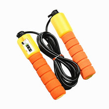 Load image into Gallery viewer, Jump Ropes with Counter Sports Fitness Adjustable Fast Speed Counting Jump Skip Rope Skipping Wire