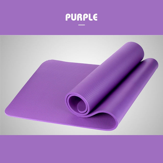 1830*610*10mm Yoga Mat Thick Non Slip Workout Mats Carpet Exercise Pad Pilate For Beginner Environmental Fitness Gymnastics Mats