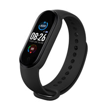 Load image into Gallery viewer, M5 Men Women Fitness Tracker Sports Smart Watch Bracelet Heart Rate Blood Pressure Monitor Health Wristband Bluetooth Smart Band