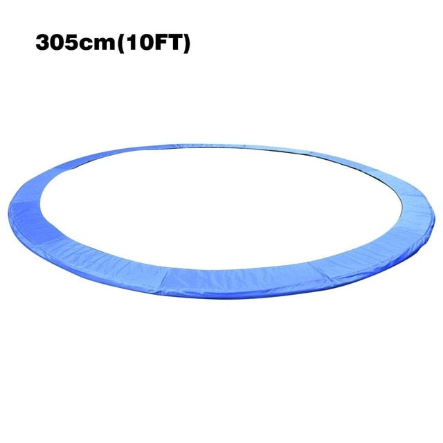 3.05m/3.66m Universal Round Trampoline Replacement Safety Pad Spring Cover Long Lasting Trampoline Edge Cover Fitness Equipment