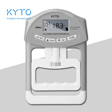 Load image into Gallery viewer, KYTO Digital Hand Dynamometer Grip Strength Measurement Meter Auto Capturing Hand Grip Power 200 Lbs / 90 Kgs