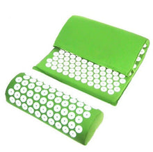 Load image into Gallery viewer, Acupressure Massager Mat Cushion Yoga Mat For Body Head Relieve Stress Pain Yoga Pad Muscle Tension Spike Mat and Pillow