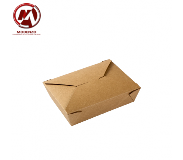 Kraft Deli Box #1 Small (5x4in.) - 200pcs/ctn