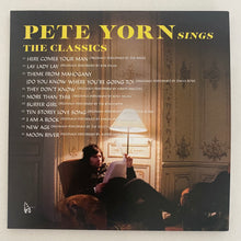 "Load image into Gallery viewer, Personalized Signed ""Pete Yorn Sings The Classics"" CD"