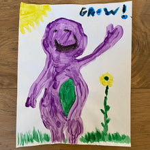 "Load image into Gallery viewer, Barney 24 ""Grow!"""