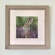 Load image into Gallery viewer, Amongst the Blooming Heather - ORIGINAL FRAMED PAINTING